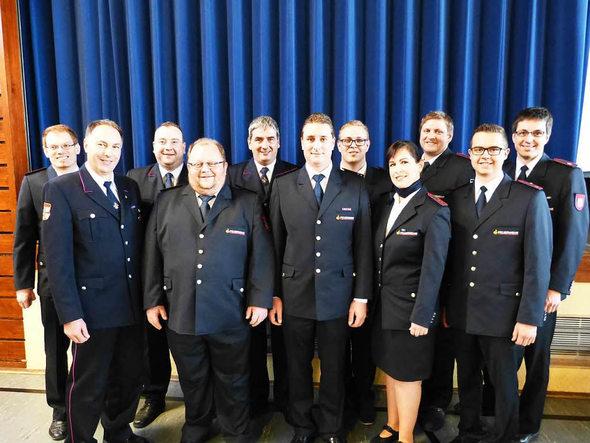 Die Ausschussmitglieder der Kreisjugendfeuerwehr Foto: Bachmann-Goronzy
